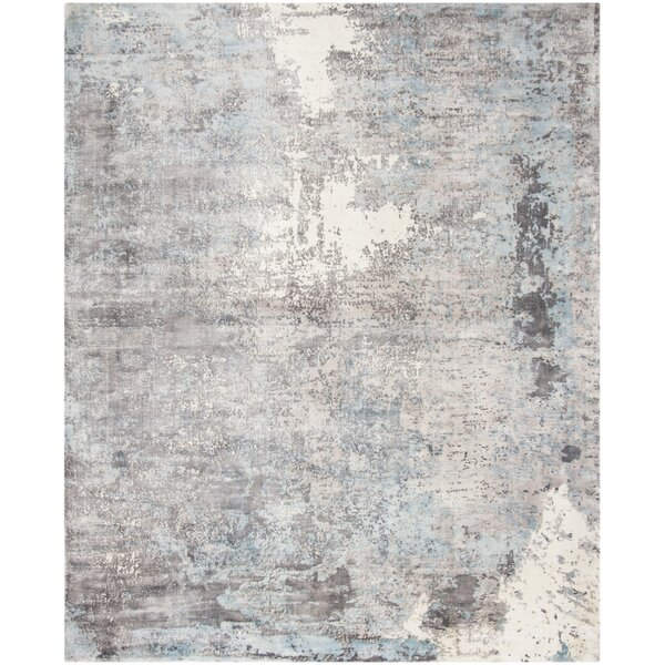 Issouf Hand Tufted Rectangle Gray Area Rug by 17 Stories
