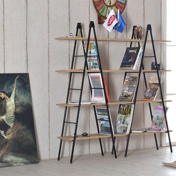 Alanah Vardar Modern Etagere Bookcase By Gracie Oaks