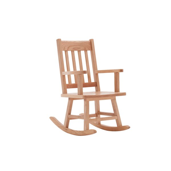 Classic Oak Kids Rocking Chair by ECR4kids