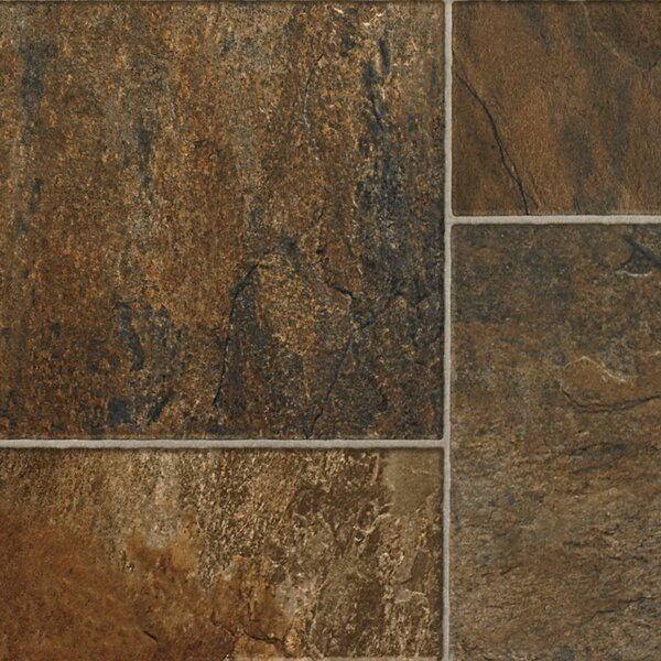 Revolutions™ Tile 16 x 51 x 8mm Slate Laminate Flooring in Oasis by Mannington