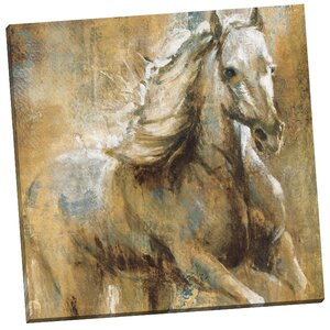 'Boundless Beauty' Painting Print on Wrapped Canvas by Three Posts