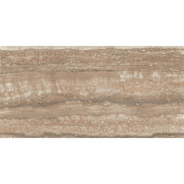 San Giulio 12 x 24 Ceramic Field Tile in Borgo Brown by Interceramic