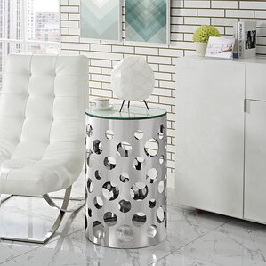 Etch End Table by Modway