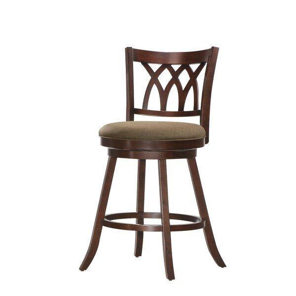 Eastham 24 Swivel Bar Stool by Winston Porter