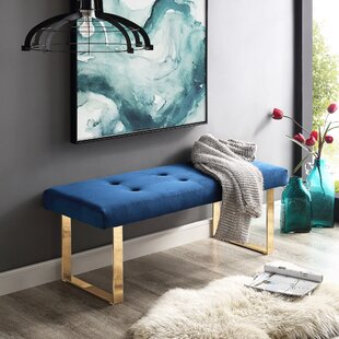 Bissett Upholstered Bench by Mercer41