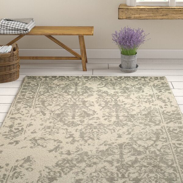 Ellicottville Hand-Tufted Brown/Cream Area Rug by Ophelia & Co.