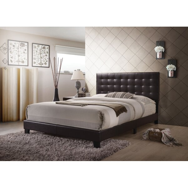 Mats Queen Upholstered Standard Bed by Latitude Run