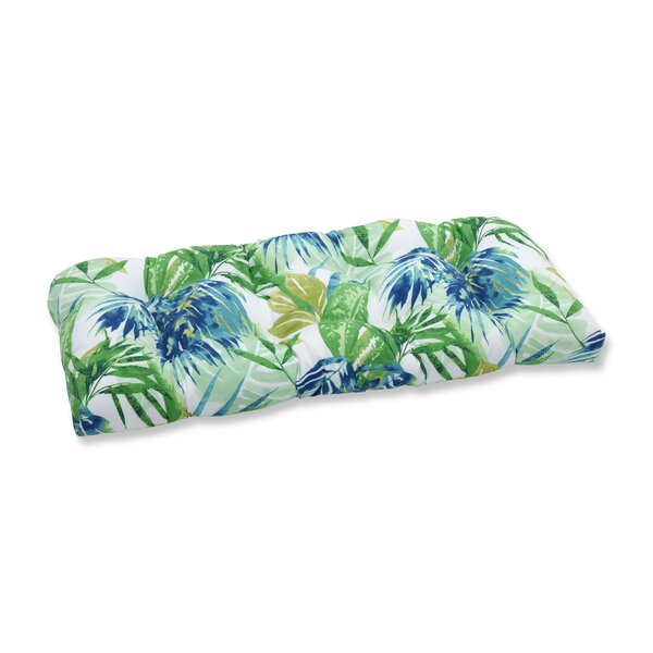 Soleil Indoor/Outdoor Love Seat Cushion by Pillow Perfect