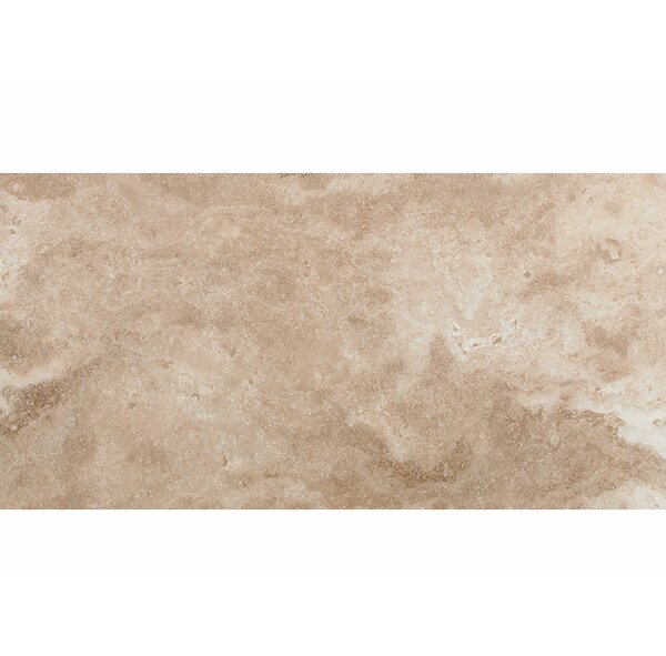 Philadelphia 12 x 24 Travertine Field Tile in Beige by Parvatile