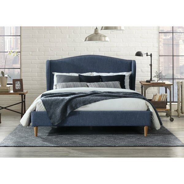 Monett Queen Upholstered Platform Bed by Ivy Bronx