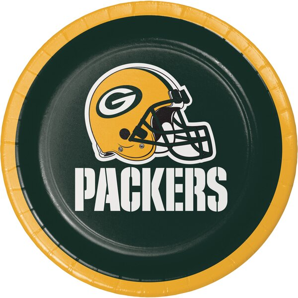 NFL Paper Dessert Plates (Set of 24) by Creative Converting