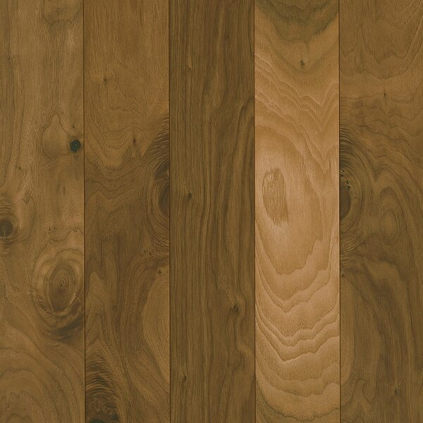Perf Plus 5 Engineered Walnut Hardwood Flooring in Golden Taupe by Armstrong Flooring