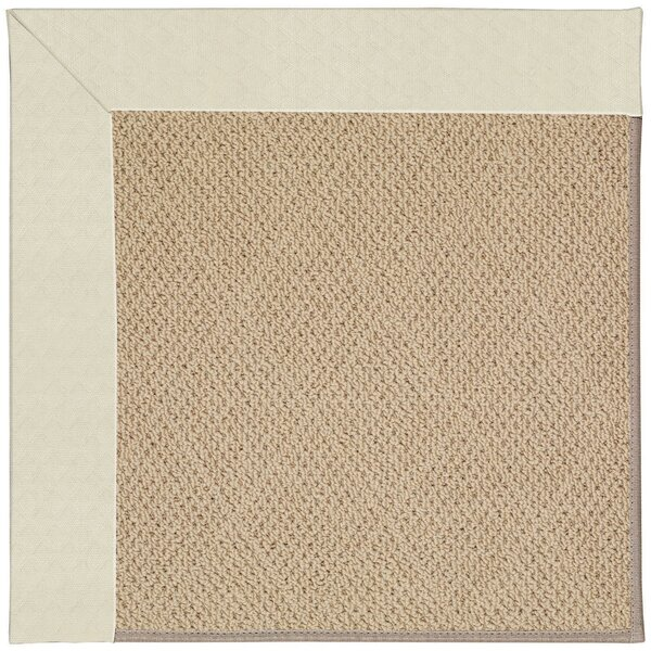 Lisle Machine Tufted Cream/Beige Indoor/Outdoor Area Rug by Longshore Tides