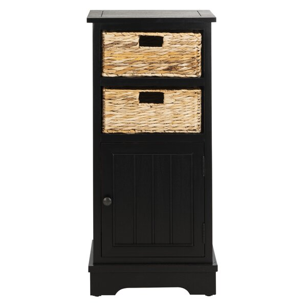Santa Cruz 1 Door Accent Cabinet by Beachcrest Home Beachcrest Home