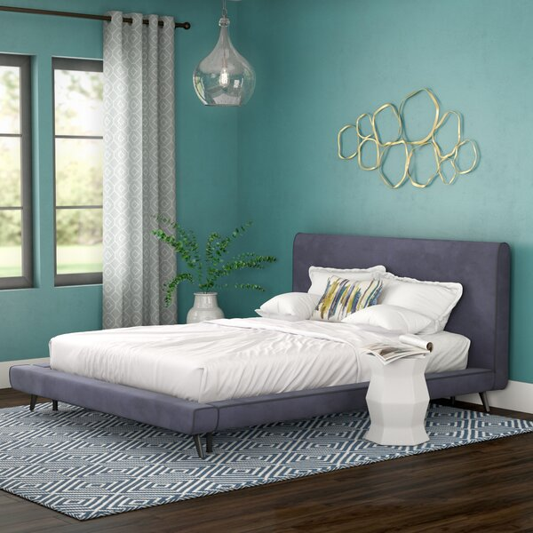 Gilbertson Upholstered Platform Bed by Brayden Studio