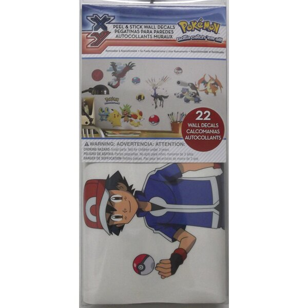Popular Characters Pokemon XY Wall Decal by Room Mates