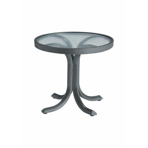 La'Stratta Glass Side Table by Tropitone Tropitone