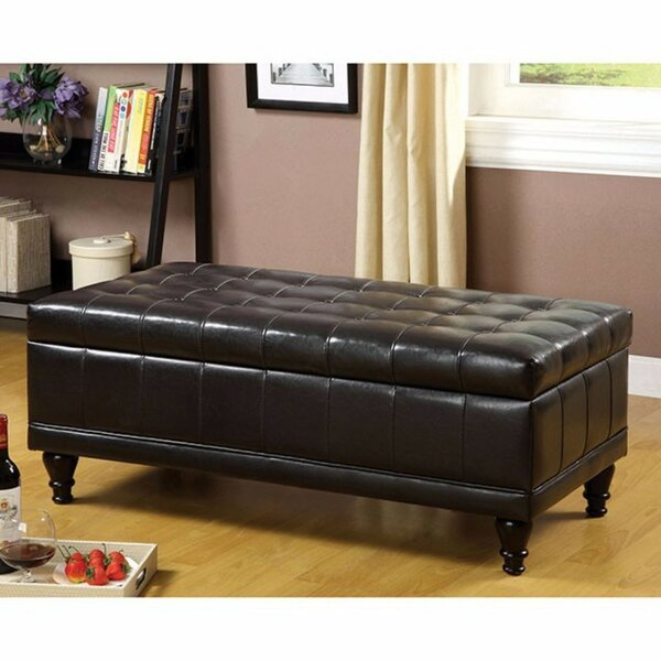 Kymani Tufted Storage Ottoman by Alcott Hill