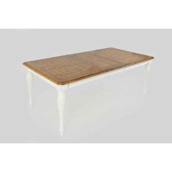 Yarger Traditional Extendable Dining Table by August Grove