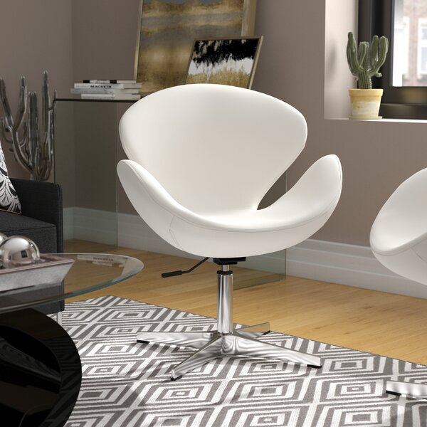 Alfredo Swivel Lounge Chair by Wade Logan
