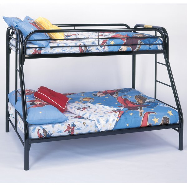 Twin Over Full Bunk Bed by Monarch Specialties Inc.