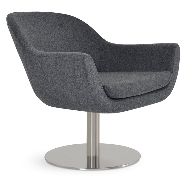 Tiyrene Round Lounge Chair by Comm Office