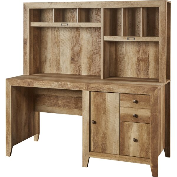 Riddleville Desk with Hutch by Greyleigh