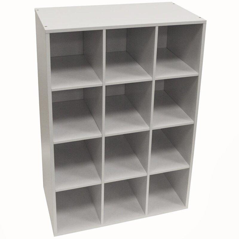 Ordinaire 12 Pair Stackable Shoe Storage Cabinet