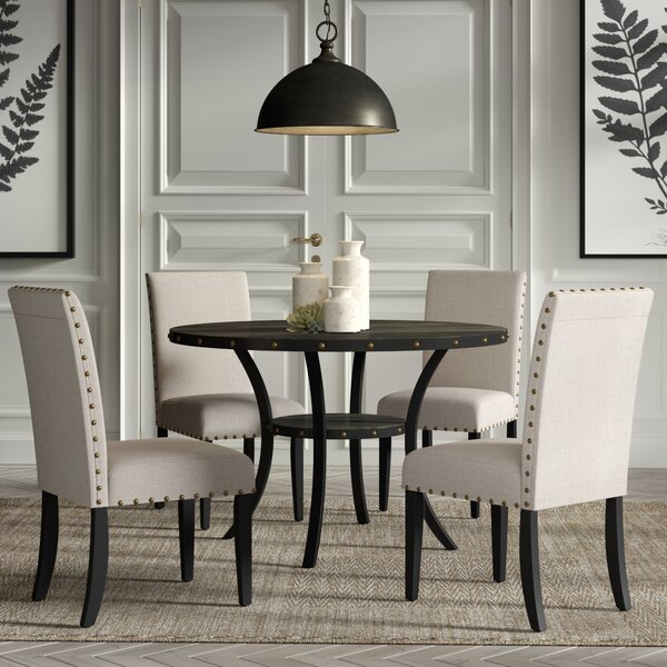 Amy Espresso 5 Piece Dining Set by Gracie Oaks