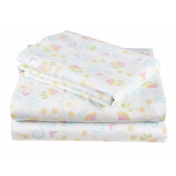 Sugar Coated Cotton Sheet Set by Morgan Home