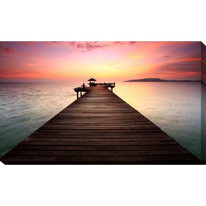 'By the Dock' Photographic Print on Wrapped Canvas by Picture Perfect International