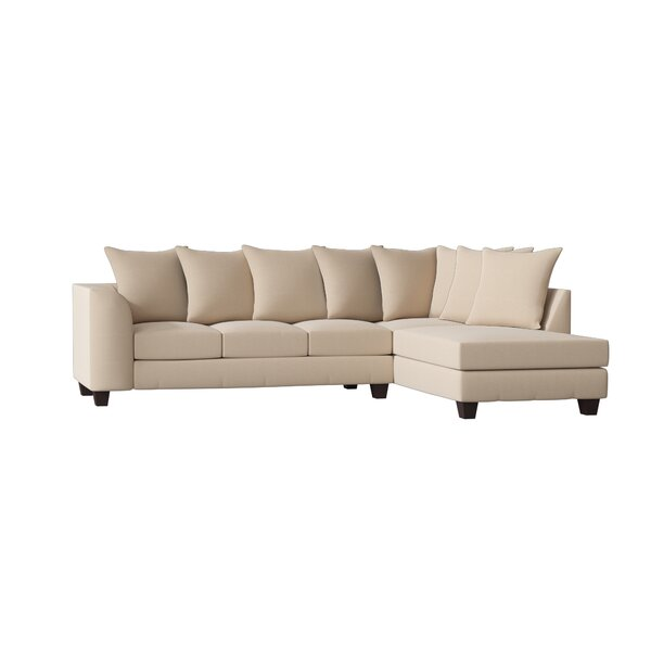 Hot Sale Burwood Right Hand Facing Sectional by Red Barrel Studio by Red Barrel Studio