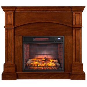Unfinished Electric Fireplaces You'll Love   Wayfair