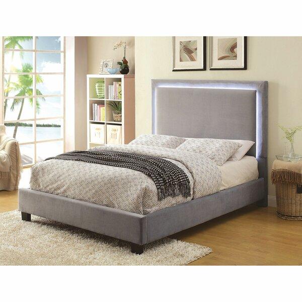 Tello Upholstered Platform Bed by Mercer41 Mercer41