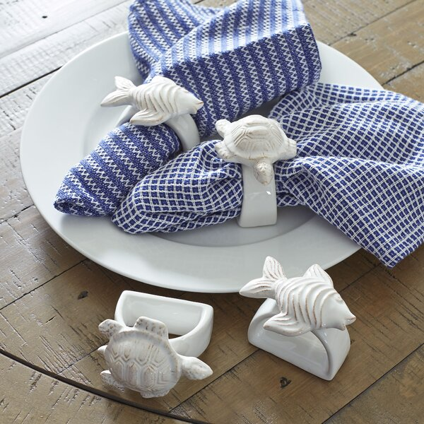 Under the Sea Napkin Rings (Set of 4) by Birch Lane™