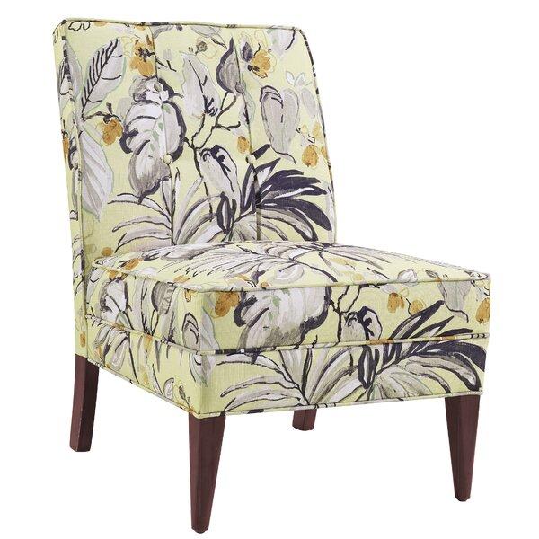 Hopbush Slipper Chair by Bay Isle Home