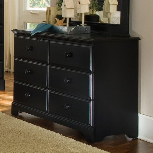 Midnight 6 Drawer Standard Dresser/Chest by Carolina Furniture Works, Inc.