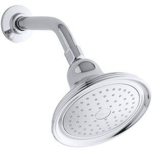 Devonshire 2.5 GPM Single-Function Wall-Mount Shower Head with Katalyst Air-Induction Spray