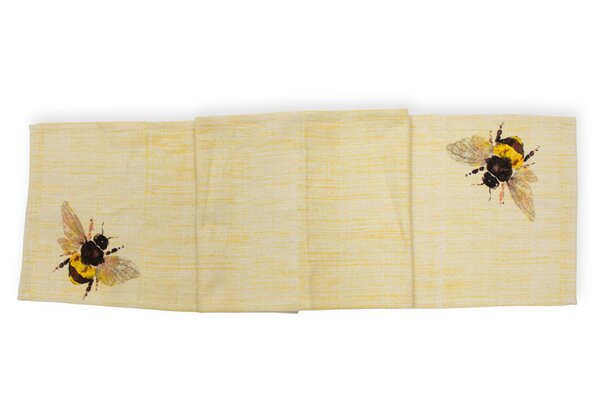Ikin Honeybee Table Runner by Winston Porter