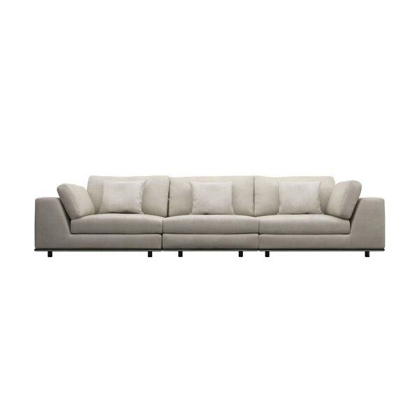 Chiquita Modular Sofa by Orren Ellis Orren Ellis