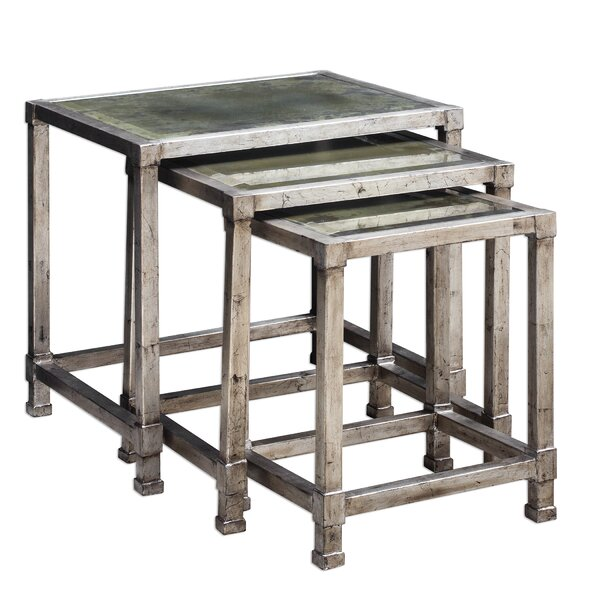 Iona 3 Piece Nesting Tables (Set of 3) by 17 Stories 17 Stories