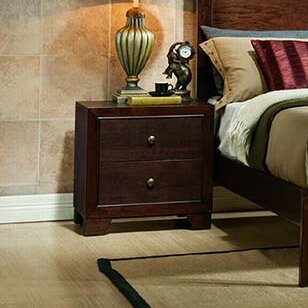 2 Drawer Nightstand by InRoom Designs