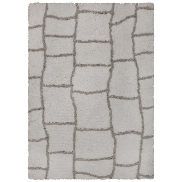 Mekhi Hand-Tufted Gray/Brown Area Rug by Brayden Studio
