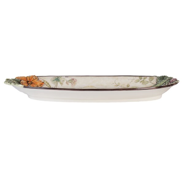 Fattoria Oval Platter by Fitz and Floyd