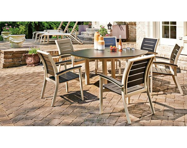 Bazza Stacking Patio Dining Chair (Set of 2) by Telescope Casual