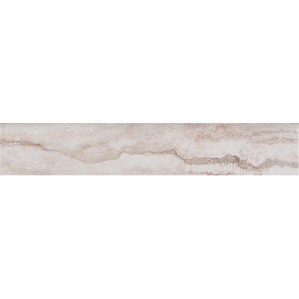 Bernini Bianco 3 x 18 Porcelain Field Tile in White by MSI