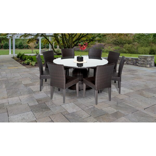 Napa 9 Piece Dining Set by TK Classics