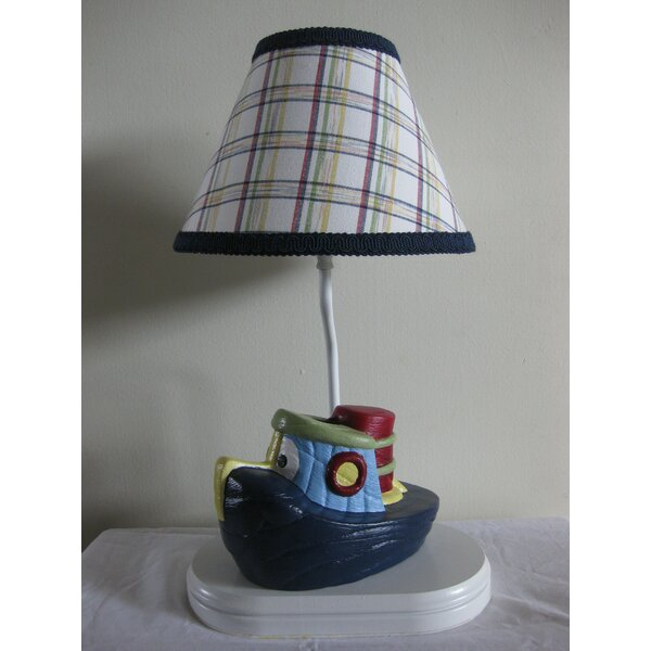 Train Transportation 13.5 Table Lamp by Silly Bear Lighting