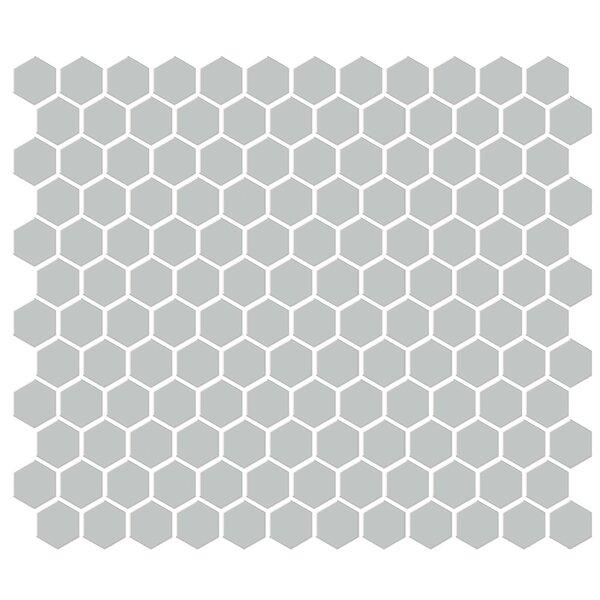 Shape 1 x 1 Porcelain Mosaic Tile in Gray by Emser Tile