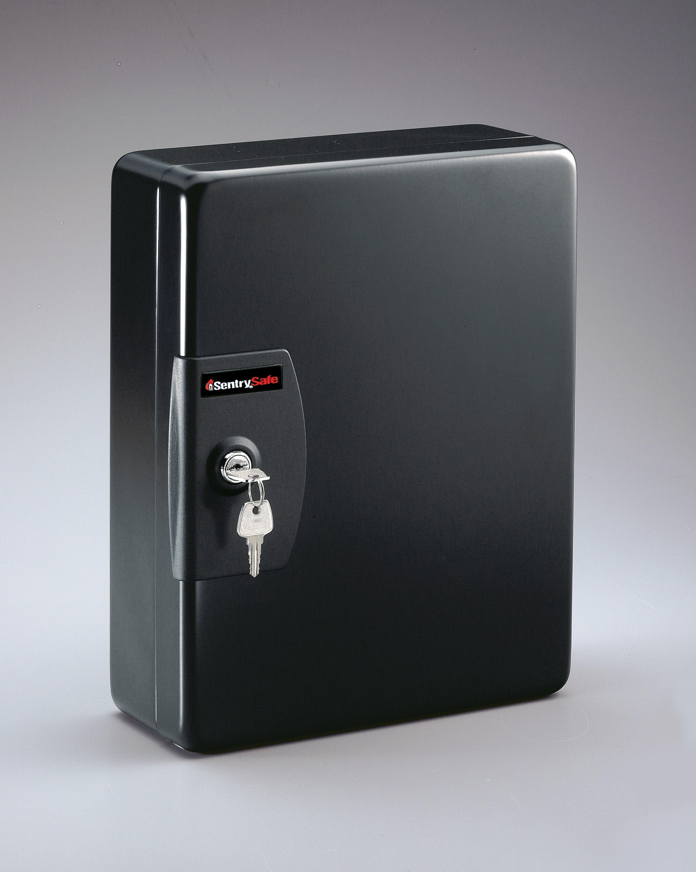 Locking Key Safe 25 Capacity Keybox Locked Metal Hanging Box Car Auto Dealer New
